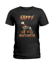 Happy Howloween - German Shepherd Ladies T-Shirt thumbnail