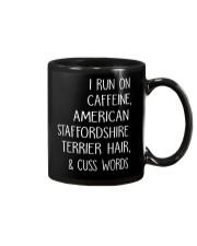 Caffeine and American Staffordshire Terrier Mug thumbnail