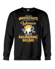 Engineering Woman Crewneck Sweatshirt thumbnail