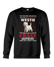 If You Mess With My Westie Crewneck Sweatshirt thumbnail