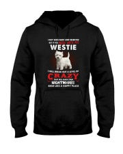 If You Mess With My Westie Hooded Sweatshirt thumbnail