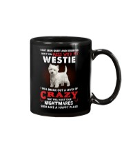 If You Mess With My Westie Mug thumbnail