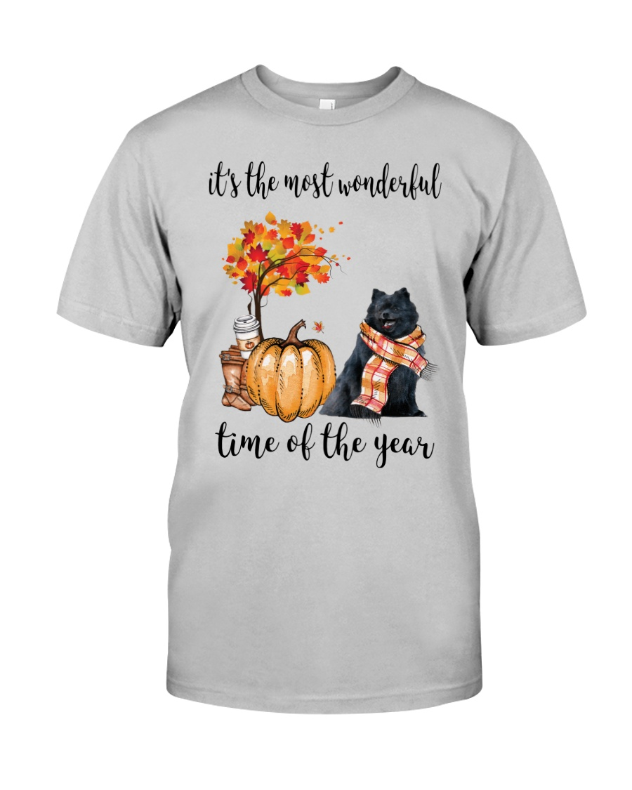 The Most Wonderful Time - Black Pomeranian Classic T-Shirt