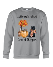 The Most Wonderful Time - Black Pomeranian Crewneck Sweatshirt thumbnail