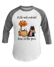 The Most Wonderful Time - Black Pomeranian Baseball Tee thumbnail