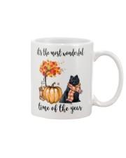 The Most Wonderful Time - Black Pomeranian Mug thumbnail