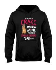 Crazy Lady German Shepherd Hooded Sweatshirt thumbnail