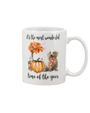The Most Wonderful Time Long Haired Dachshund Mug thumbnail