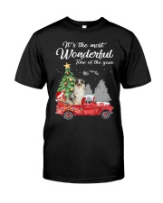 Wonderful Christmas with Truck - Aussie Classic T-Shirt front