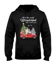 Wonderful Christmas with Truck - Aussie Hooded Sweatshirt thumbnail