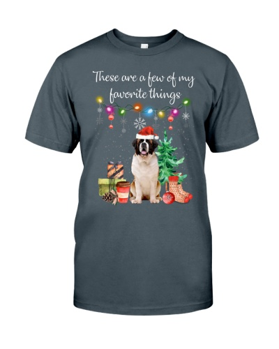 A Few of My Favorite Things - Saint Bernard