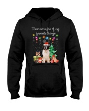 A Few of My Favorite Things - Saint Bernard Hooded Sweatshirt thumbnail