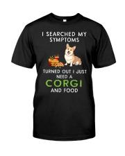 Corgi and Food Classic T-Shirt front