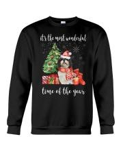 The Most Wonderful Xmas - Shih Tzu Crewneck Sweatshirt thumbnail
