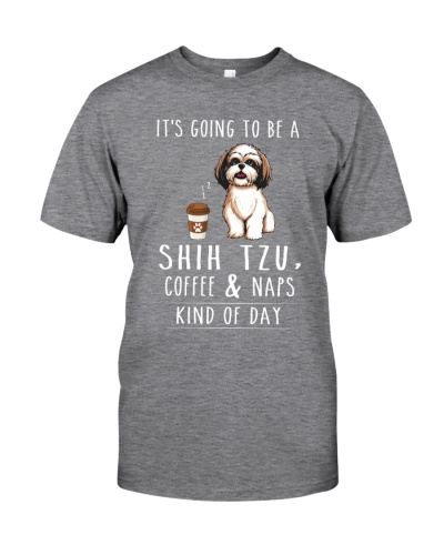 Shih Tzu Coffee and Naps
