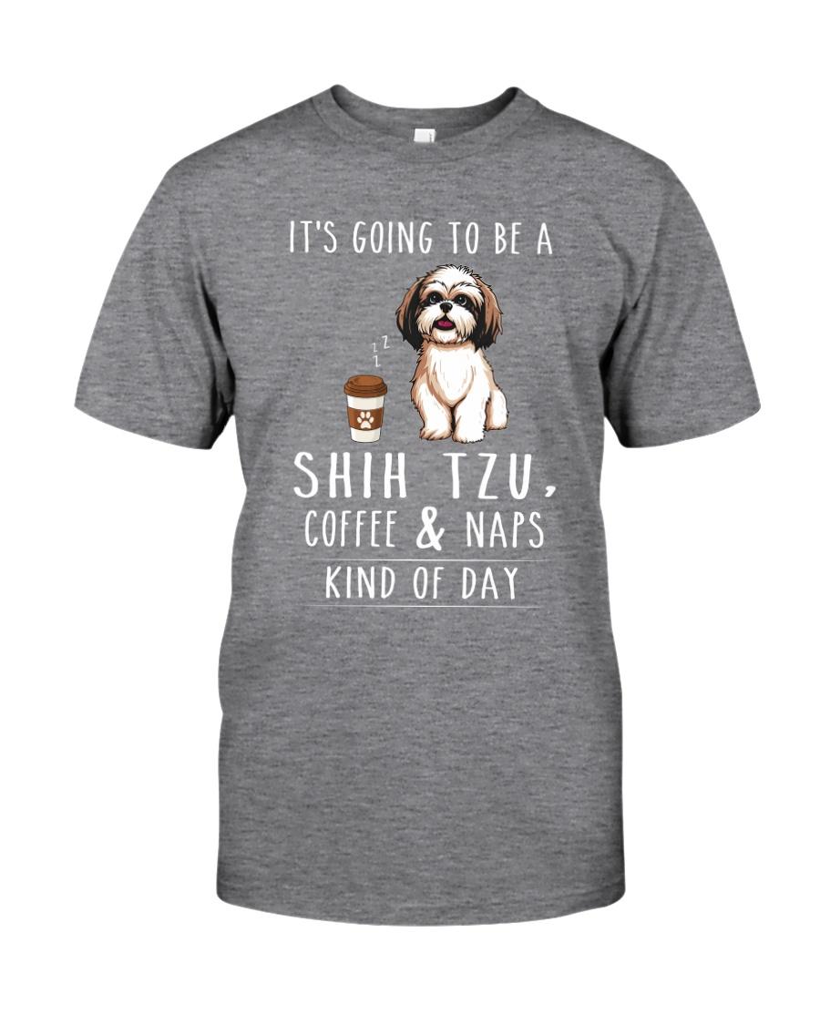 Shih Tzu Coffee and Naps Classic T-Shirt