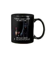 Wine and Schipperke Mug thumbnail