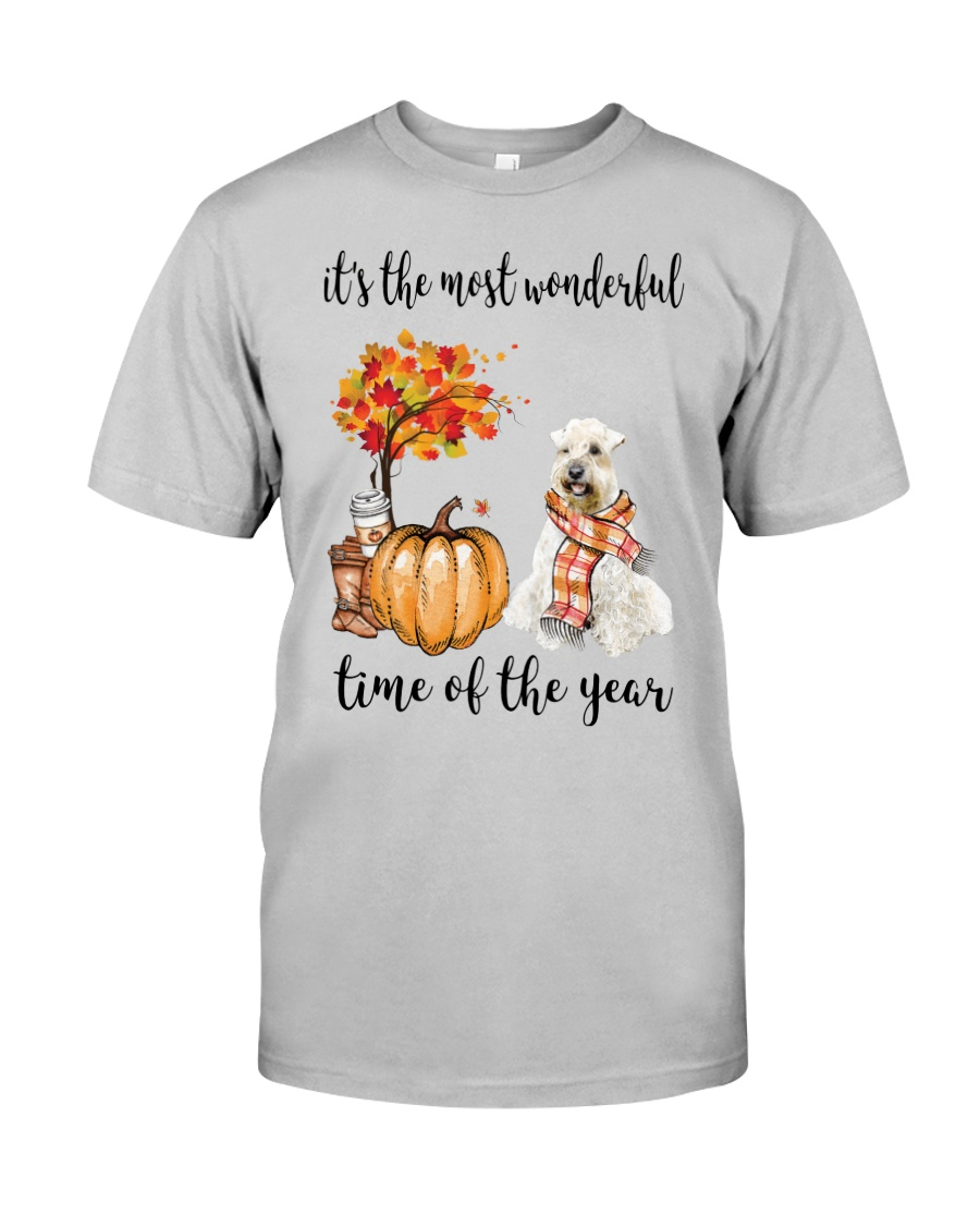 The Most Wonderful Time - Wheaten Terrier Classic T-Shirt