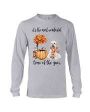 The Most Wonderful Time - Wheaten Terrier Long Sleeve Tee thumbnail