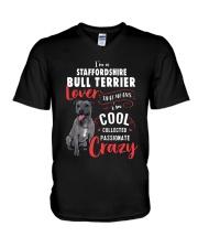 I'm a Staffordshire Bull Terrier Lover V-Neck T-Shirt thumbnail