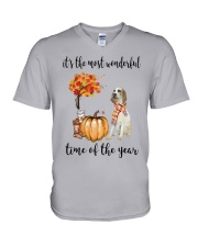 The Most Wonderful Time - Porcelaine V-Neck T-Shirt thumbnail