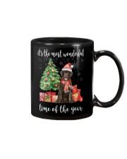 The Most Wonderful Xmas - Chocolate Labrador Mug thumbnail