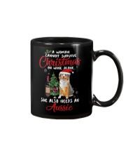 Christmas - Wine and Aussie Mug thumbnail