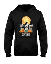 Howloween Westie 2 Hooded Sweatshirt tile