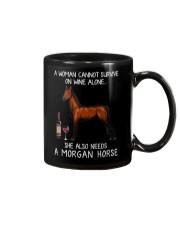 Wine and Morgan Horse Mug thumbnail