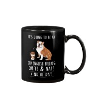 Old English Bulldog Coffee and Naps Mug thumbnail