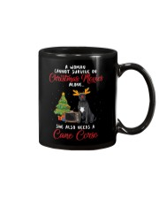 Christmas Movies and Cane Corso Mug tile