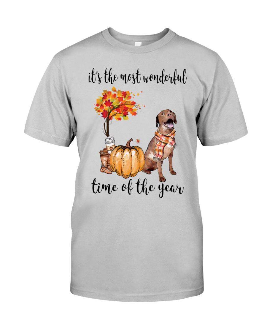 The Most Wonderful Time - Chesapeake Bay Retriever Classic T-Shirt