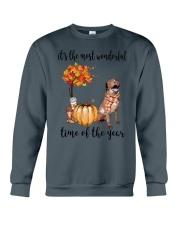 The Most Wonderful Time - Chesapeake Bay Retriever Crewneck Sweatshirt thumbnail