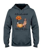 The Most Wonderful Time - Chesapeake Bay Retriever Hooded Sweatshirt thumbnail