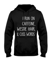 Caffeine and Westie Hooded Sweatshirt thumbnail