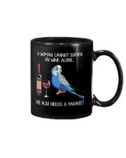 Wine and Parakeet Mug thumbnail