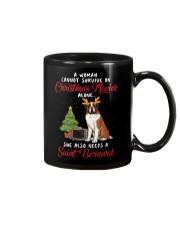 Christmas Movies and Saint Bernard Mug thumbnail