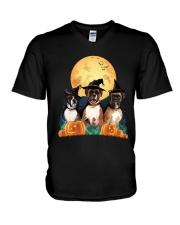 Howloween Boxer V-Neck T-Shirt thumbnail