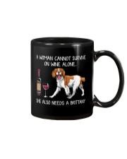 Wine and Brittany Mug thumbnail