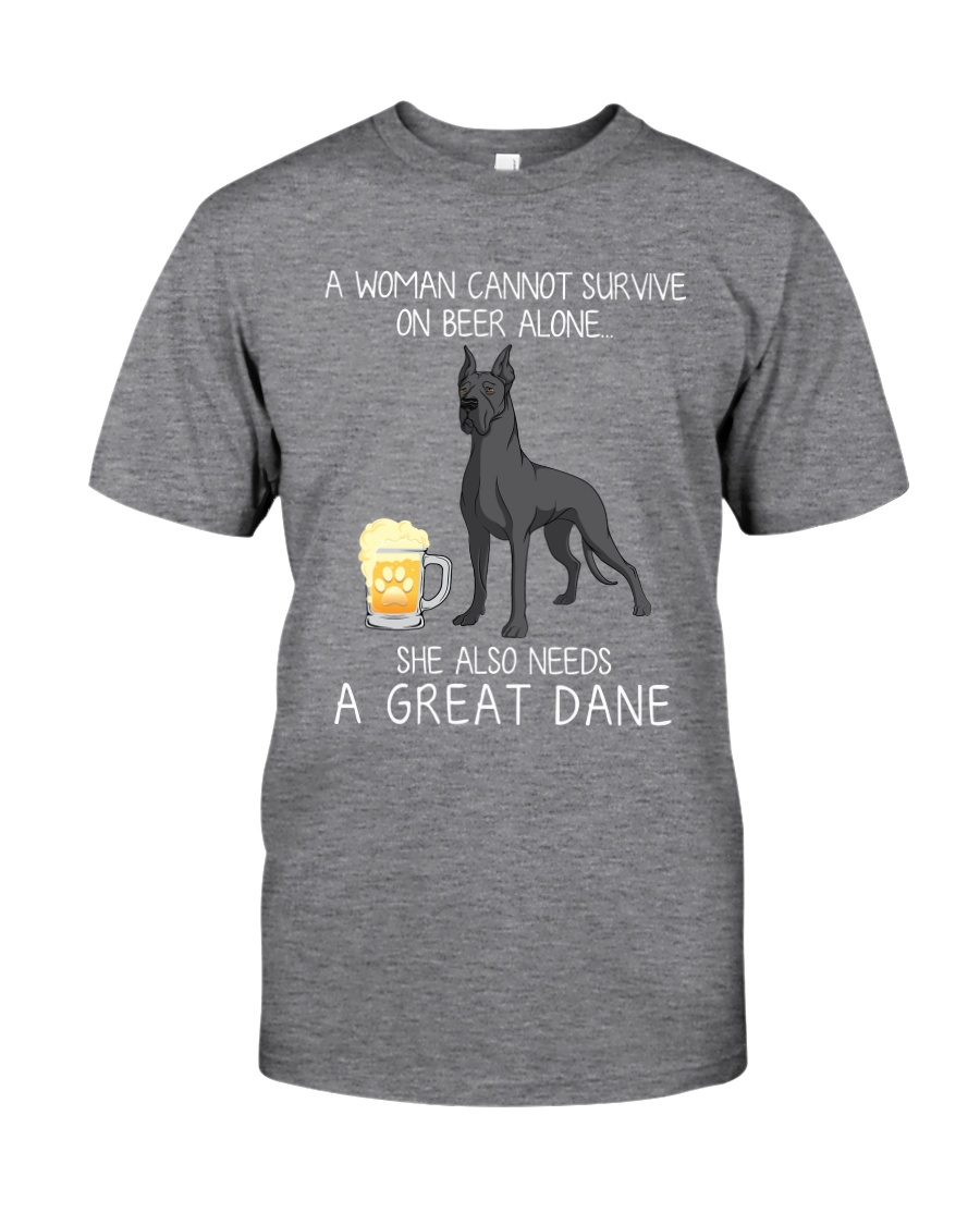 Beer and Great Dane 2 Classic T-Shirt