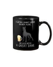 Beer and Great Dane 2 Mug thumbnail
