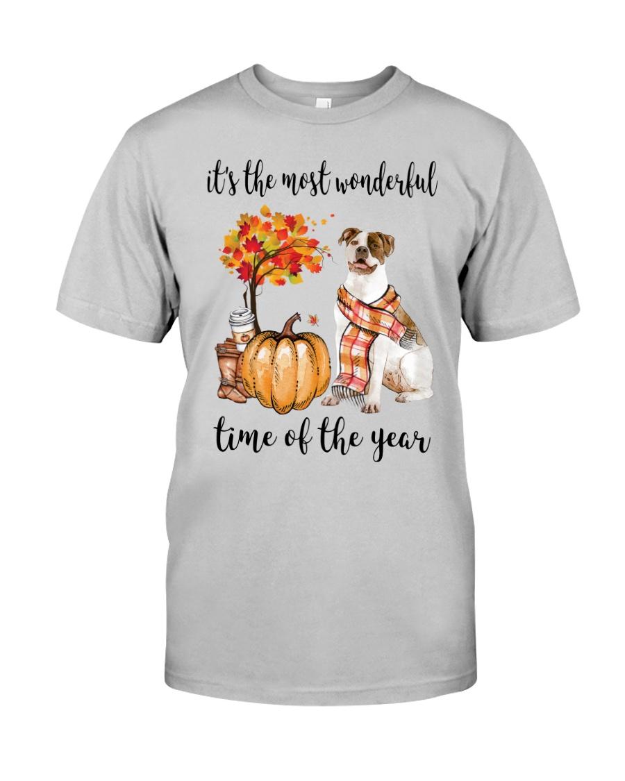The Most Wonderful Time - American Bulldog Classic T-Shirt