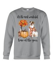 The Most Wonderful Time - American Bulldog Crewneck Sweatshirt thumbnail