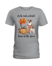 The Most Wonderful Time - American Bulldog Ladies T-Shirt thumbnail