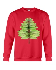 Dragonfly Christmas Tree Crewneck Sweatshirt front
