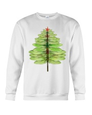 Dragonfly Christmas Tree Crewneck Sweatshirt tile