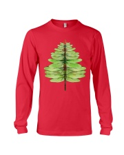 Dragonfly Christmas Tree Long Sleeve Tee front