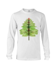Dragonfly Christmas Tree Long Sleeve Tee thumbnail