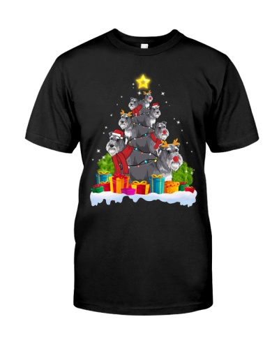 Schnauzer Christmas Tree