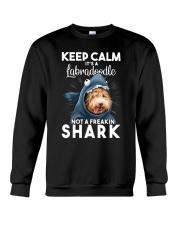 It's A Labradoodle Not A Freakin Shark Crewneck Sweatshirt thumbnail